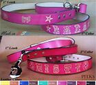 Large Leather Dog Collars - Personalized Leather Dog Collars and Leashes - USA