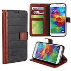 Frosted Card PU Leather Magnet Stand Case Cover For Samsung Galaxy S5 i9600 G900