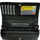Ladies' - Wallet With 20 Compartments Leather / Wallet Wallet