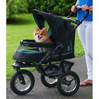 *Pet Gear NV No Zip Stroller Skyline* Jogging to 70 lbs Dog Cat w  Weather Cover