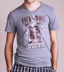 Rock N Roll Circus Vintage style Lucky Brand  rare V-neck T-Shirt XL NWT