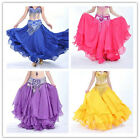 Belly Dance Costume Three Layers Performances Skirt/Dress   Crimping skirt