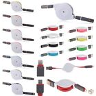 Retractable 2in1 8Pin+Micro USB Data Sync Charger Cable for iPhone 6 5S Samsung