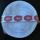 "7/8"" Montreal Canadiens Grosgrain Ribbon by the Yard (USA SELLER!) $9.55 USD on eBay"