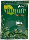 Godrej Nupur Mendhi  Natural with 9 herbs 50gm/120gm/400gm  Henna Hair Color