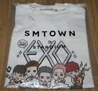 EXO SMTOWN COEX Artium OFFICIAL GOODS CHARACTER WHITE T-SHIRT SEALED