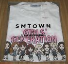 GIRLS' GENERATION SMTOWN COEX Artium SUM OFFICIAL GOODS CHARACTER WHITE T-SHIRT