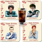 THE VAMPS BIRTHDAY DRNKS COASTER PERSONALISED FREE OF CHARGE
