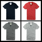 New Abercrombie A&F by Hollister Men FISH HAWK CLIFF HENLEY Tee Shirts Muscle