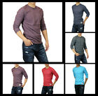 New Hollister by Abercrombie Men Hobson Long Sleeve T-Shirts Muscle Fit All Size