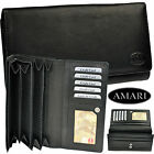 AMARI XXXL Pursepurcepurse 32 Fan / Calf nappa leather / Wallet Purse Wallet