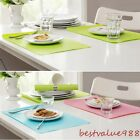 Candy Color EVA Heat Insulation Pad Kitchen Dining Table Place Mats 44*28.5CM