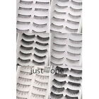 HOT 1Set 10 Pairs for Women Hand-made Thick Long EyeLashes Black 6 Shades New