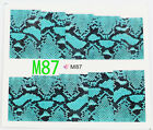 Hot Chic Water Transfer Nail Full Wrap Decal Nail Art Decoration Stickers Tips