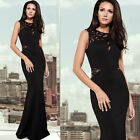 Womens SEXY Long Hollowed Quinceanera Graduation Evening Prom PARTY Maxi Dresses