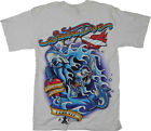 Scuba Dive Shirt Amphibious Outfitters Skull Tattoo S-3XL 1 of over 200 styles