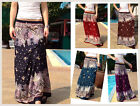 Long Skirt-Gypsy-Boho-Summer-Lightweight- Midnight Shades-Various Colours