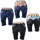2015  NEW STYLE Fashion Hot Boys Girls Kids Baby Jeans Pants Trousers 6M-3Y