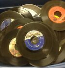Lot of 100 45 rpm Vinyl Records for Crafts and Decoration 7