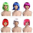 Fashionable Womens Short Bob Cut Fancy Dress Wig Costume Cosplay Party Full Wig