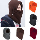 Fleece Thermal Balaclava Sports Motorcycle Cycling Ski Face Mask Hat Warmer Cap