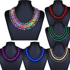 1pc Womens Statement Chain Collar Choker Bib Charm Necklace Bohemian Cheap