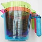 NEW COLOURED MEASURING JUGS 1 LITER PINK, PURPLE,GREEN OR BLUE YOU CHOOSE L@@K