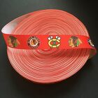 "7/8"" Chicago Blackhawks Red Grosgrain Ribbon by the Yard (USA SELLER!) $4.85 USD on eBay"