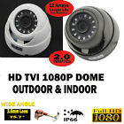 1080P HD TVI Dome 3.6mm Wide Angle outdoor 20M Nightvision CCTV security Camera