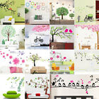 Family DIY Removable Art Vinyl Rome Wall Stickers Decal Mural Home Kids Decor