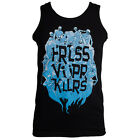 Official Fearless Vampire Killers Unisex Black Ghouls Vest Tank Top ALL SIZES