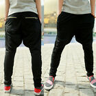 New Style Men's Casual Sports Dance Trousers Jogging Harem Pants size M-XL UK FO