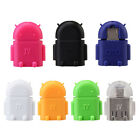 Micro USB To USB OTG Robot Adapter Connecter GS for Android Smart Phone Tablet