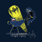ADVENTURE TIME Batman Finn Marceline Catwoman Gotham Limited Mens T-Shirt M-2XL