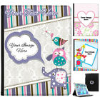 Personalised Custom Photo Leather Case Cover for iPad Add Your Image to Designs