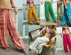 "LADIES HAREM PANTS - TIE DYE , BALLOON, BAGGY, HIPPY 39"" -MIXED COLOURS/ DESIGNS"