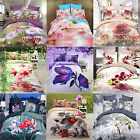 Hot! 3D Print Floral Bed Sheets Home Textile Bedding Quilt Cover Pillow Set New