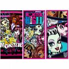 MONSTER HIGH LARGE VELOUR PINK BLACK PRINTED COTTON BEACH BATH TOWEL 70x140cm