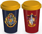 Harry Potter Thermal Travel Mug Gift Boxed Silicone Lid HP House Novelty Gift