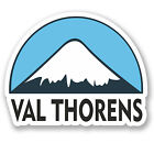 2 x 10cm Val Thorens Snowboard Vinyl Sticker iPad Laptop Luggage Travel #5143