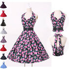 NEW 1950s Style 50s Vintage Bridesmaid Polka Dots Dresses PROM Dress