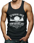 Summer 1980 Camp Crystal Lake - Jason Voorhees Horror Men's Tank Top T-shirt