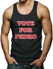 Vote For Pedro - Funny Napoleon Dynamite Movie Election Men's Tank Top T-shirt