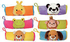 Funny Cute Cartoon Animal Plush Pencil Case Pen Bag Cosmetic Bags Pen Holder
