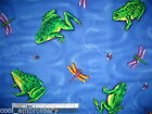 *Choose design & size - Reptiles, Frogs, Lizard, Insects cotton quilting fabric