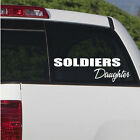 Soldiers Daughter Wall Decal - Vinyl Decal - Car Decal - CF014