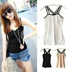 Fashion Sexy Women Casual Lace Tank Top Cami Vest Sleeveless T-Shirt Blouses