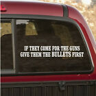 The Bullets First Pro Gun Wall Decal - Vinyl Decal - Car Decal - CF023