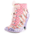Irregular Choice Dolly Mixture Womens Pink Ankle Boots New Shoes All Sizes
