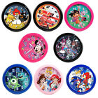 "Disney Collection 10"" Quartz Wall Mount Clock Childrens Room Decor Mickey Minnie"